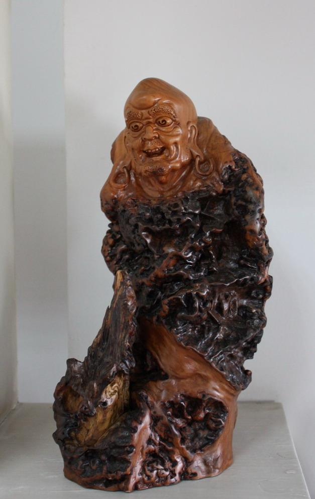 根雕作品十八罗汉之二