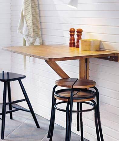 折叠餐桌 满足小户型空间需求图片