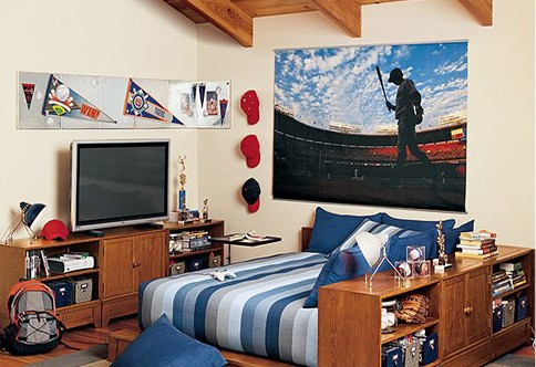 单身男生卧室大揭秘 看单身男的卧室设计图片